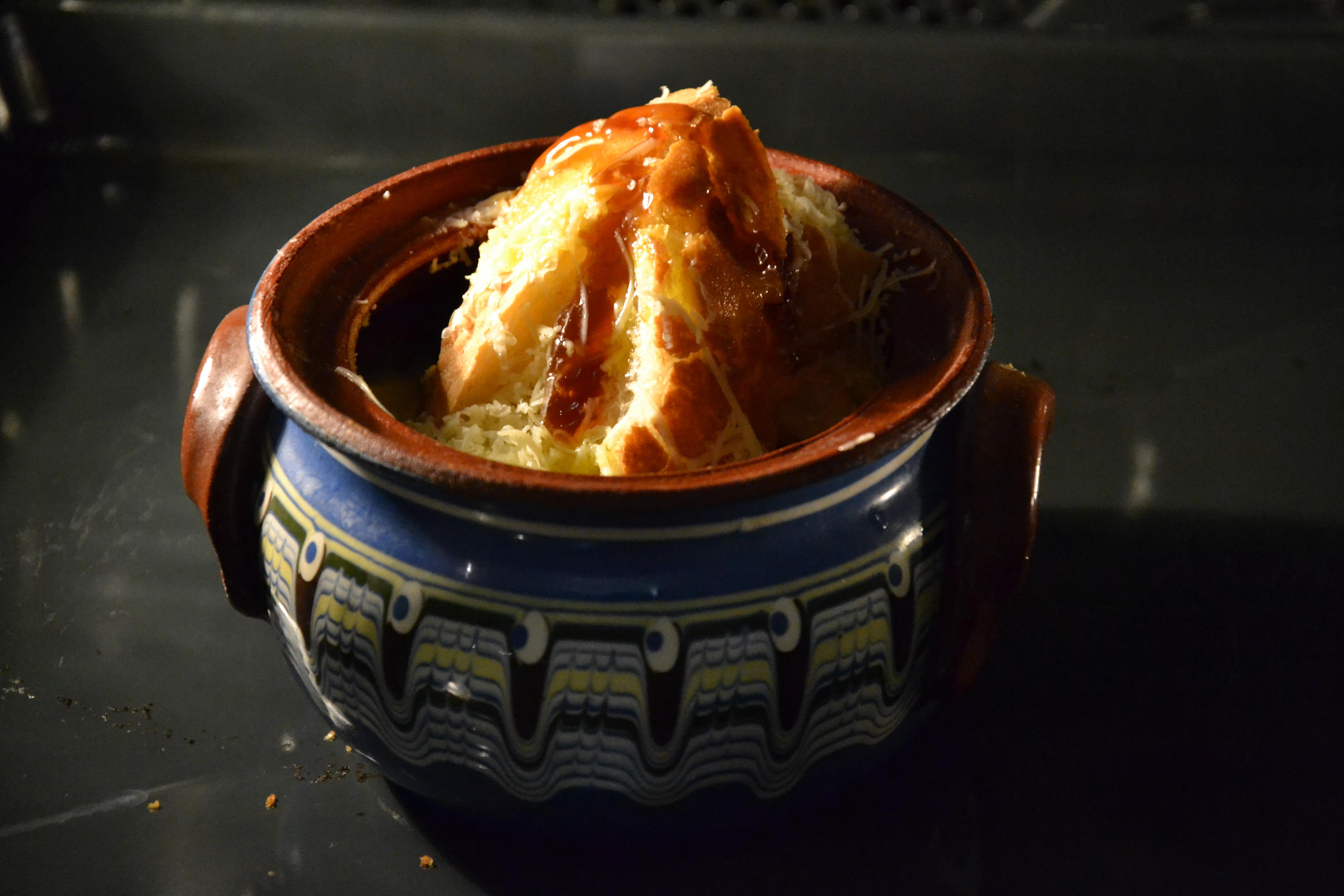 Английский луковый суп