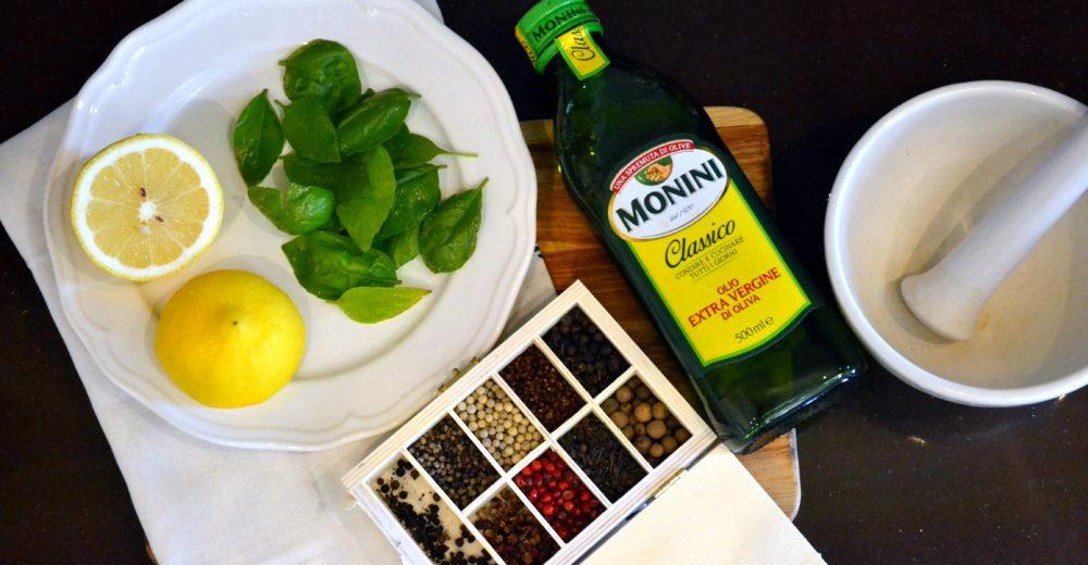 Ароматное масло с базиликом и лимоном