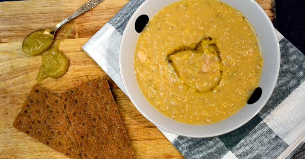 Шведский гороховый суп  (ärtsoppa)