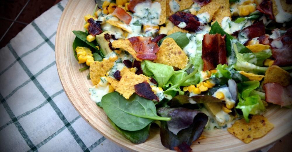 Салат для бранча