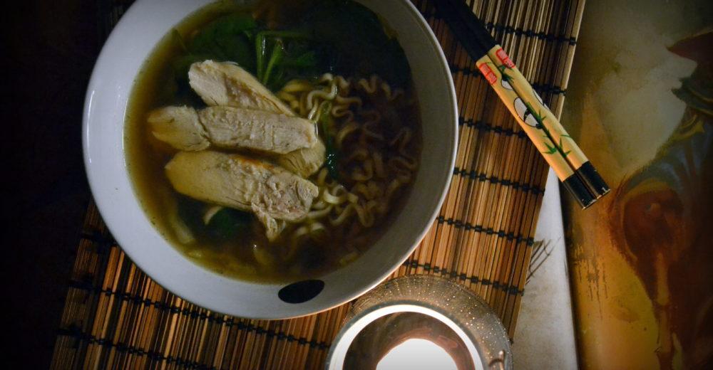 Суп из дичи с женьшенем