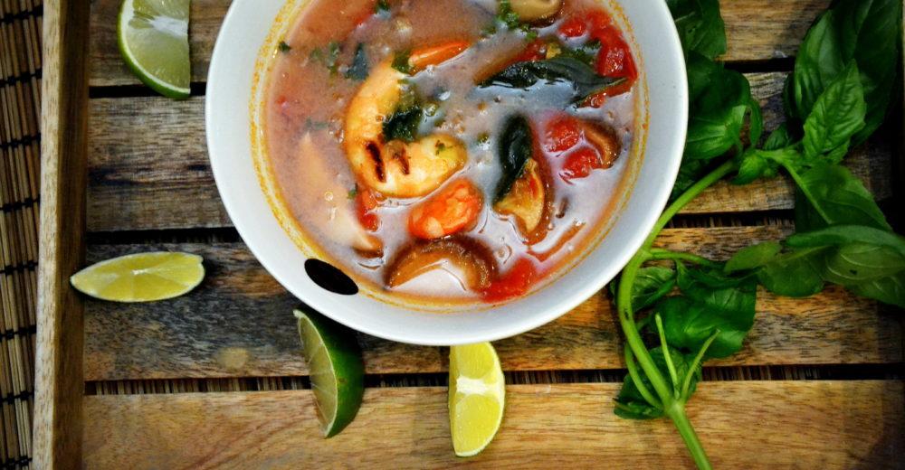 Суп Том Ям (Tôm jam)