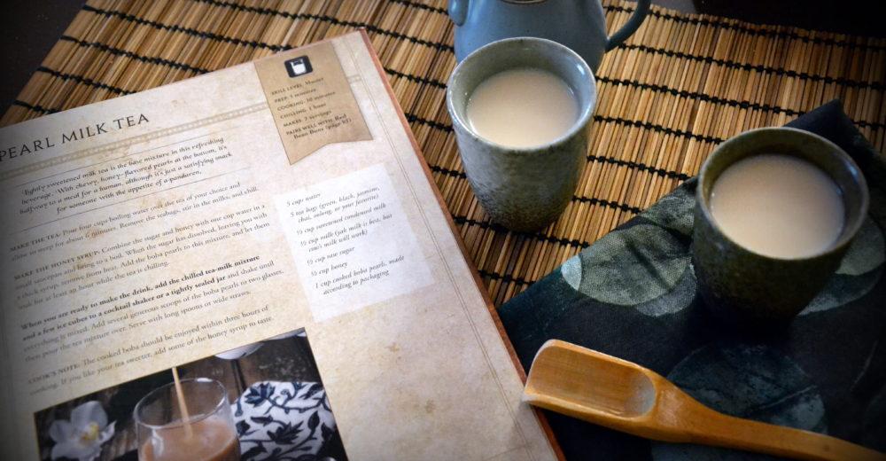 Чай с перламутровым молоком
