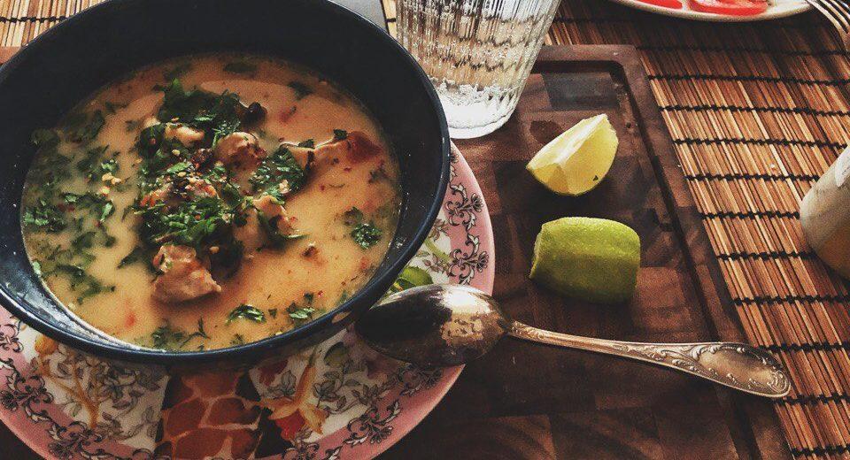 Суп Том Кха Кай (tom kha kai)