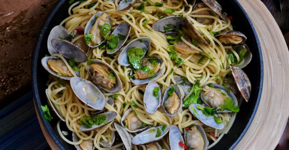 Спагетти  алле вонголе