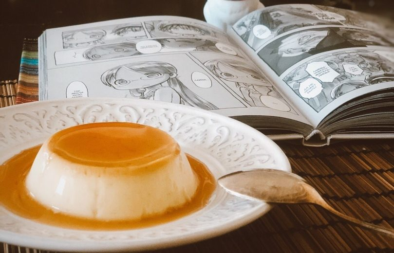 Японский пудинг пурин (purin)