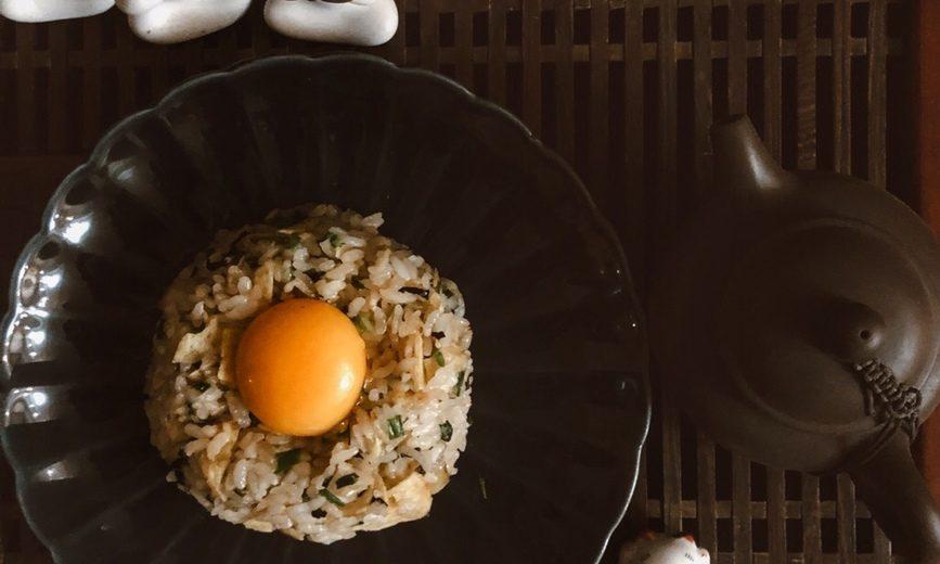Рис с яйцом (tamago kake gohan)