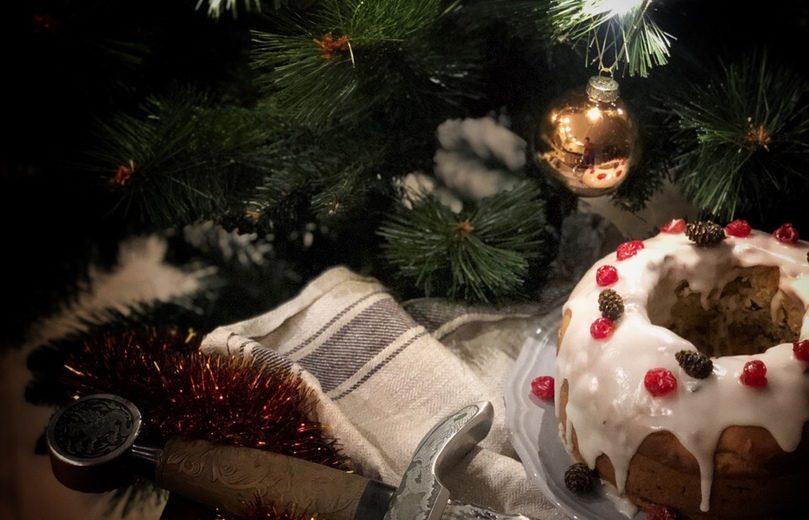 Кекс Гракку с сухофруктами (Специальный Новогодний выпуск)